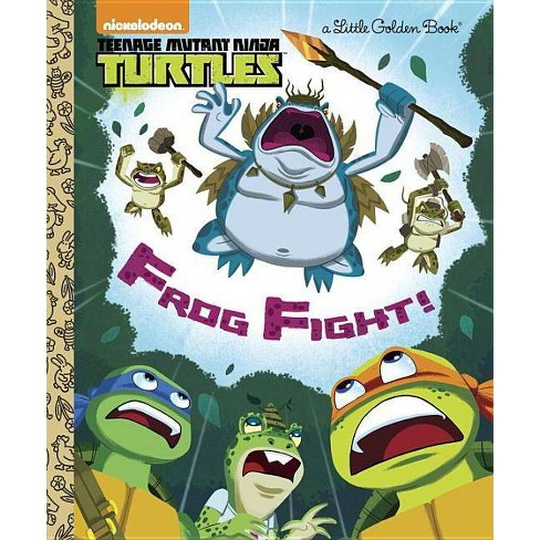 Frog Fight! (Teenage Mutant Ninja Turtles) - (Little Golden Book) (Hardcover) - image 1 of 1