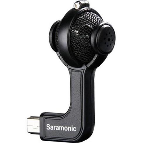 Saramonic G-Mic Profesional Stereo Electret Condenser Ball Microphone for GoPro HERO3, HERO3+ & HERO4 Cameras - image 1 of 4
