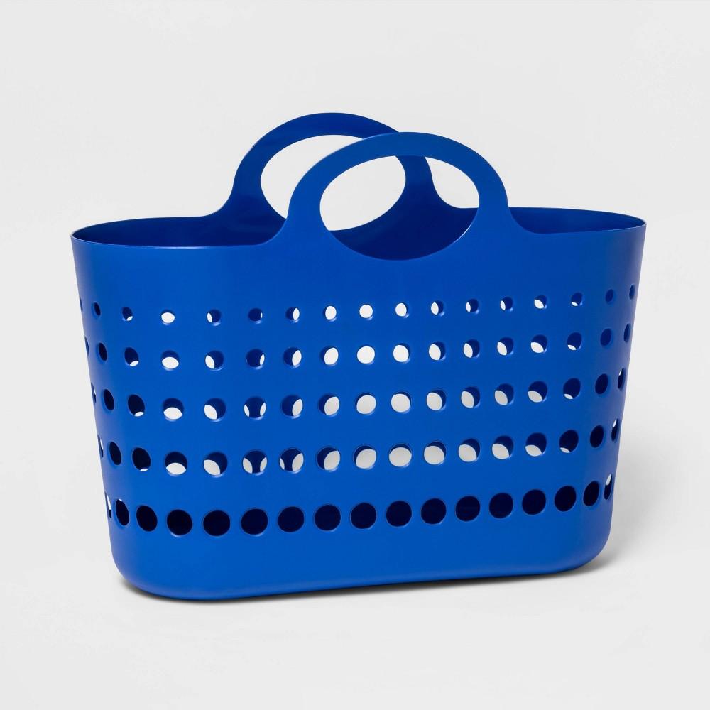 Image of 6gal Plastic Flex Tote Blue - Sun Squad