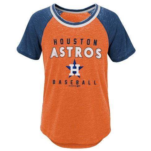 8fc06bdd1e01f Houston Astros Girls' Burnout Alt T-Shirt - S : Target