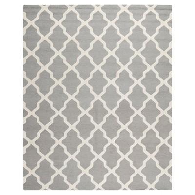 Maison Textured Area Rug - Silver / Ivory (6' x 9')- Safavieh®