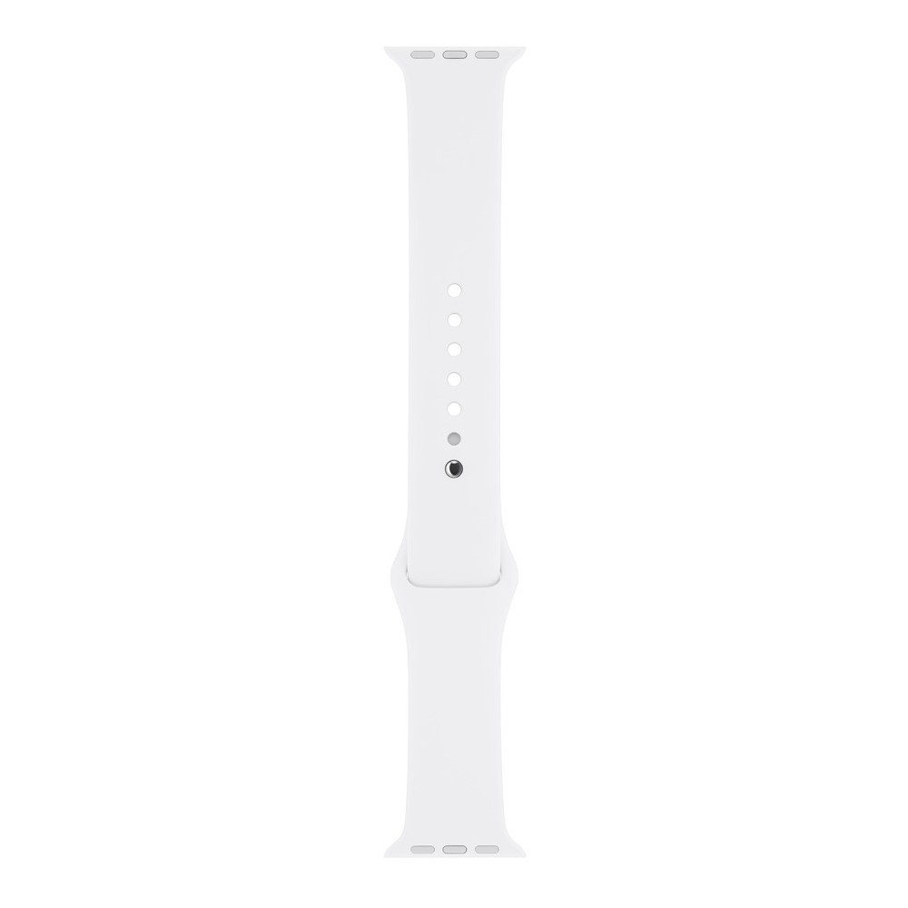 Apple Watch Sport Band 42mm - White, Adult Unisex, White with Steel Pin