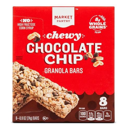 Chocolate Chip Chewy Granola Bars 8ct