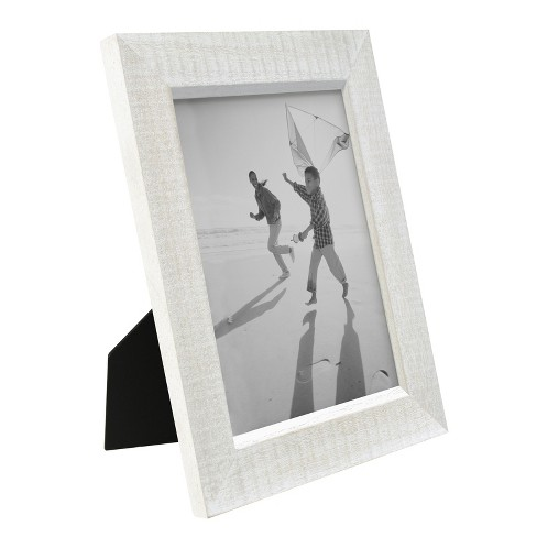 Frame Whitewashed Wood Threshold Target