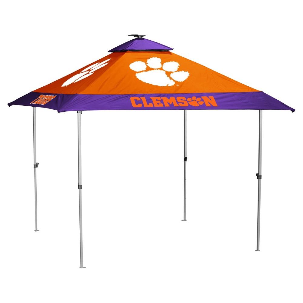 NCAA Clemson Tigers Logo Brands Pagoda 10x10 Canopy Tent