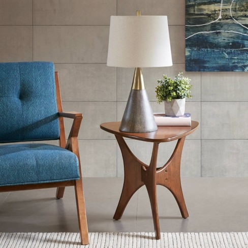 Broome Table Lamp Gray/Gold (Lamp Only) - image 1 of 4