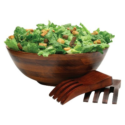 Lipper International 3pc Salad Set - Cherry
