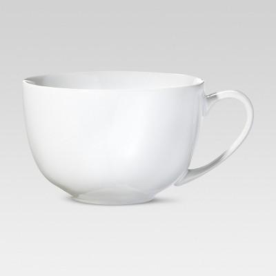 Cappuccino Mug 15.2oz Porcelain Set of 4 - Threshold™
