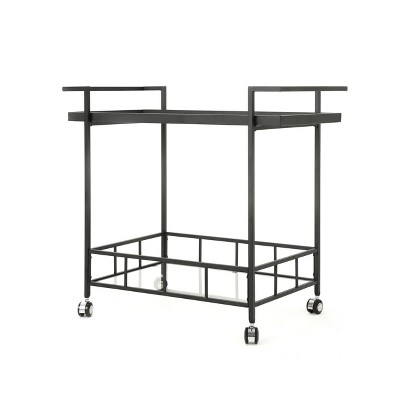 Ambrose Industrial Bar Cart - Christopher Knight Home