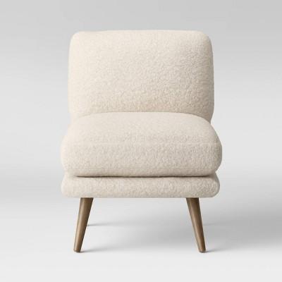 Harper Faux Fur Slipper Chair Sherpa - Project 62™