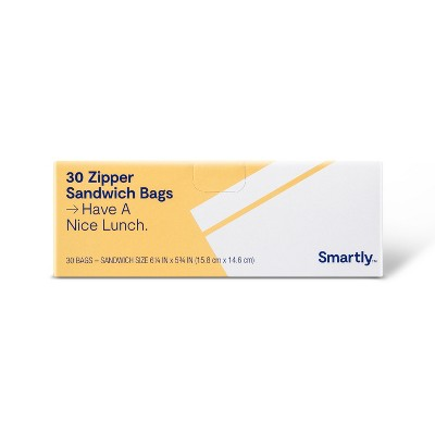 Sandwich Bags - 30ct - Smartly™