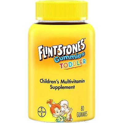 Flintstones Toddler Multivitamin Gummies 80 ea