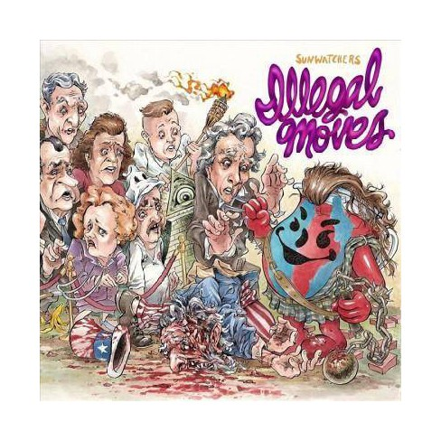 Sunwatchers - Illegal Moves (CD) - image 1 of 1