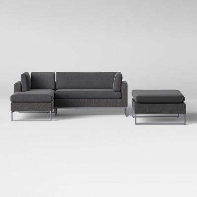 Howell Patio Sectional Conversation Set w/ Super Ottoman - Project 62™