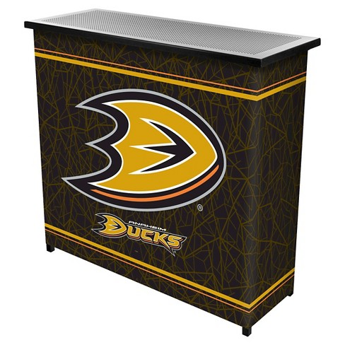 Anaheim Ducks 2 Shelf Portable Bar with Case - image 1 of 1