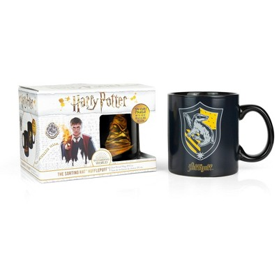 Seven20 Harry Potter Hufflepuff 20oz Heat Reveal Ceramic Coffee Mug | Color Changing Cup