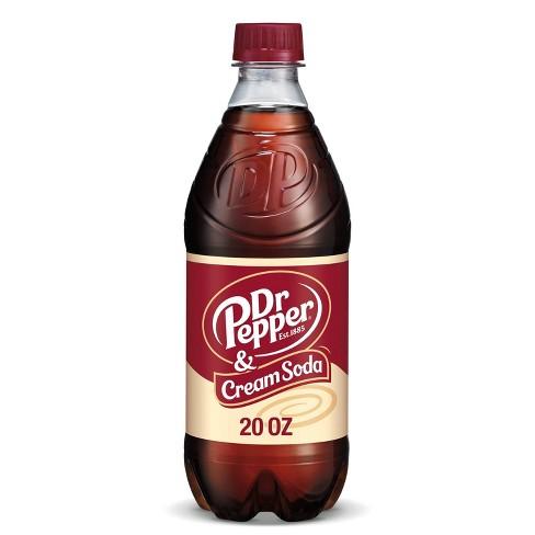 Dr Pepper Cream Soda - 20 fl oz Bottle - image 1 of 4