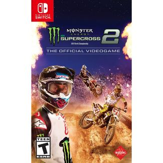 Monster Energy Supercross 2: The Official Video Game - Nintendo Switch