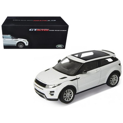 RANGE ROVER EVOQUE 1:43 scale Diecast model Cars *WHITE*