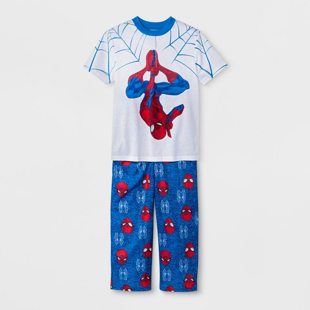 Boys' Spider-Man 2pc Pajama Set - White M