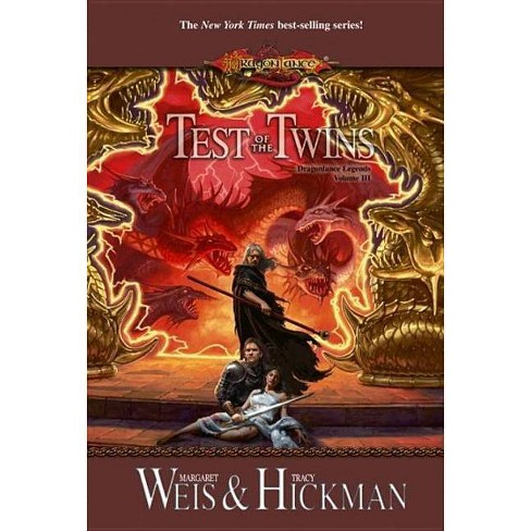 Test of the Twins - (Dragonlance Legends) by  Margaret Weis & Tracy Hickman (Paperback) - image 1 of 1