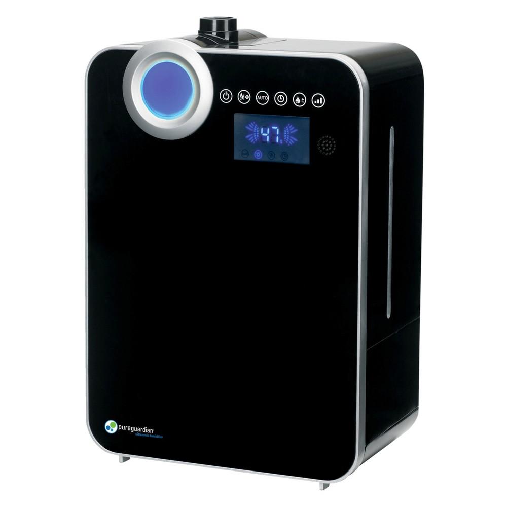 Pureguardian 120 Hour Elite Ultrasonic Warm And Cool Mist With Digital Smart Mist Sensor Humidifier H8000b
