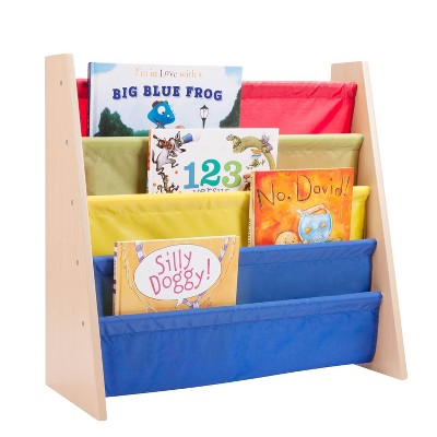 Honey-Can-Do Itsy-Bitsy Book Rack Primary