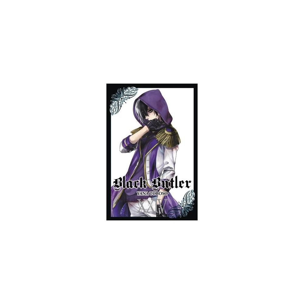 Black Butler 24 - (Black Butler) by Yana Toboso (Paperback)