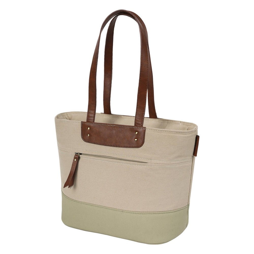 Image of Arctic Zone Canvas Collection Lunch Tote - Desert