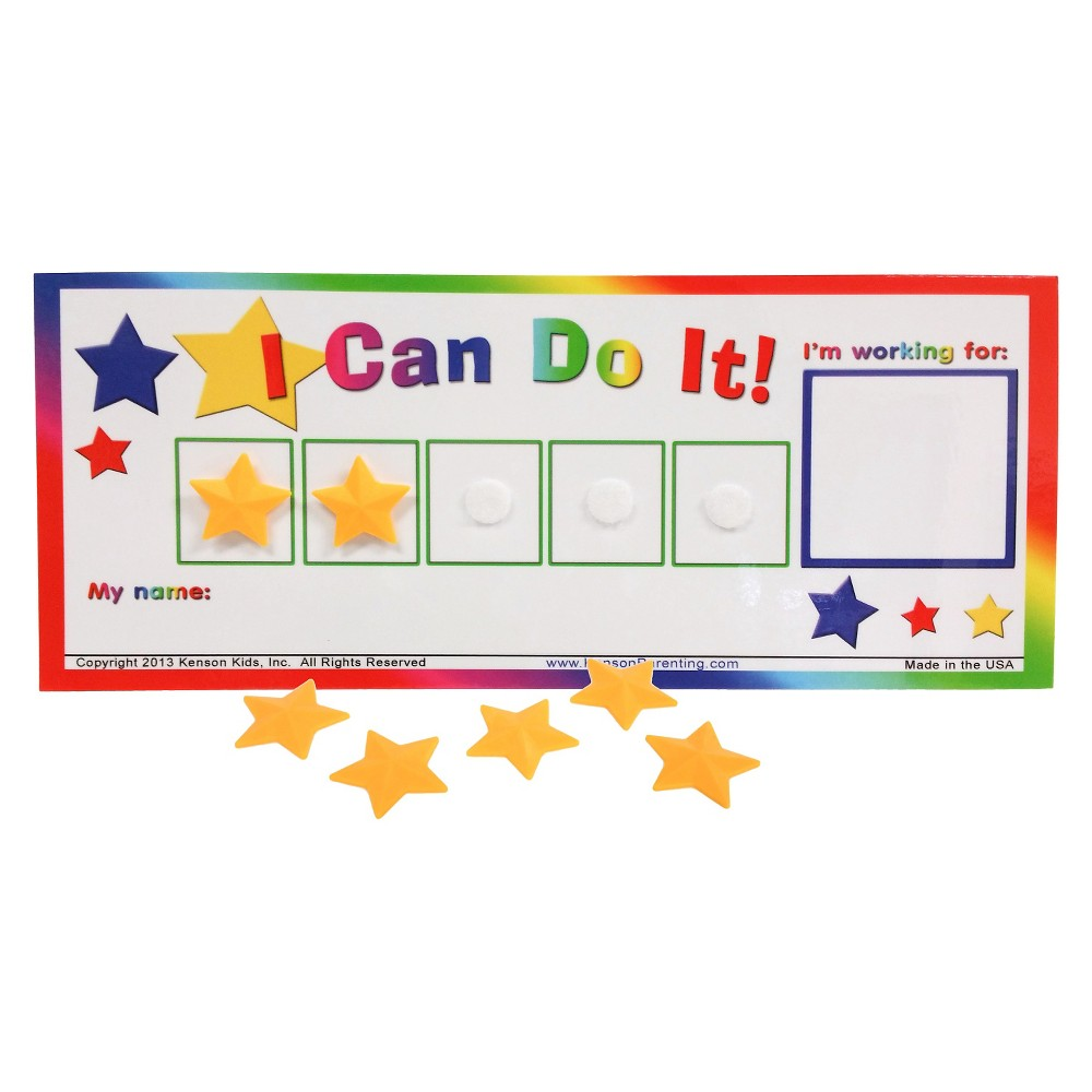 "Image of ""Kenson Kids """"I Can Do It!"""" Star Token Board"""