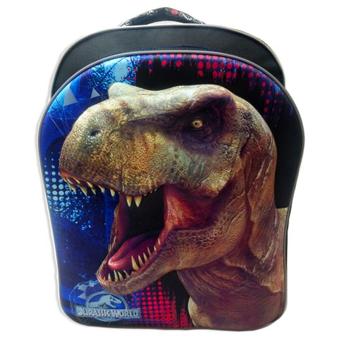 "Jurassic World 16"" Kids' Backpack - Black/Blue - image 1 of 6"