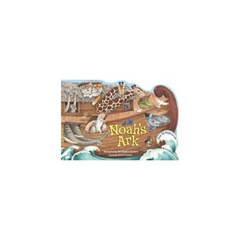 Noah's Ark - (Lift-The-Flap) by  Michelle Knudsen (Board_book) - image 1 of 1