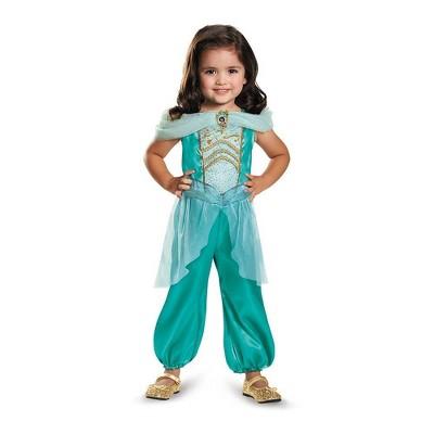 Toddler Disney Princess Jasmine Halloween Costume Jumpsuit