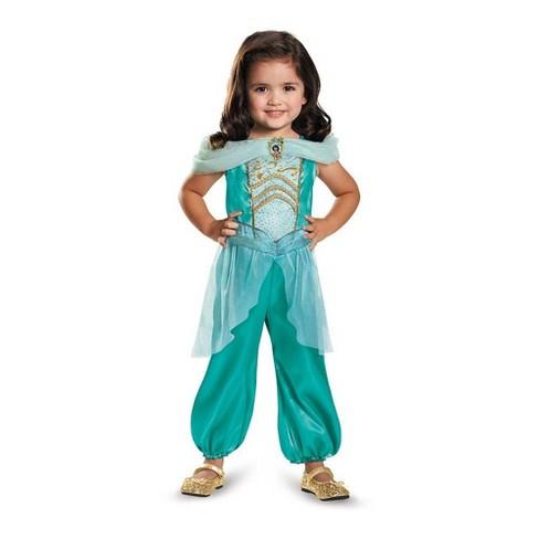 Toddler Disney Princess Jasmine Halloween Costume Jumpsuit 3t 4t Target