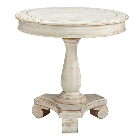 Mirimyn Round Accent Table - White - Signature Design by Ashley - image 1 of 3