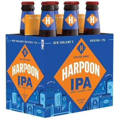 Harpoon IPA Beer - 6pk/12 fl oz Bottles
