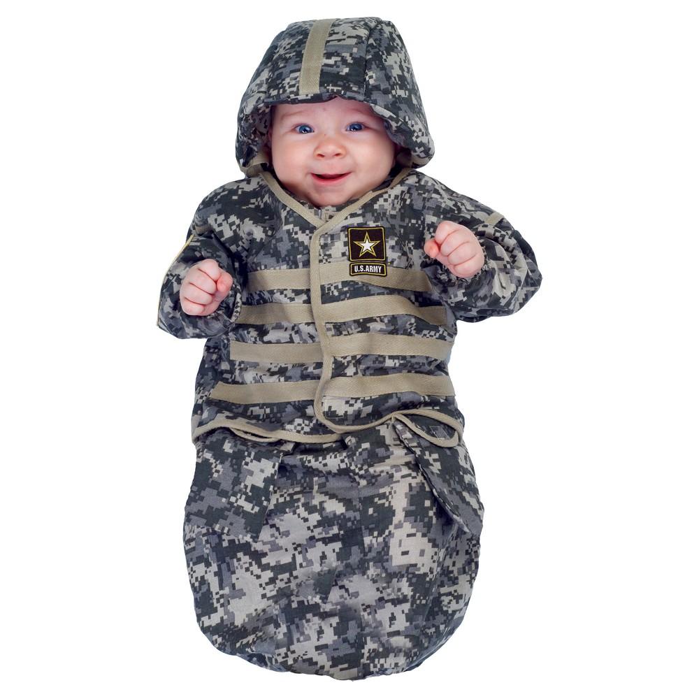 Baby U.S. Army Bunting Costume 0-6M - Underwraps Costumes, Infant Unisex, Multi-Colored