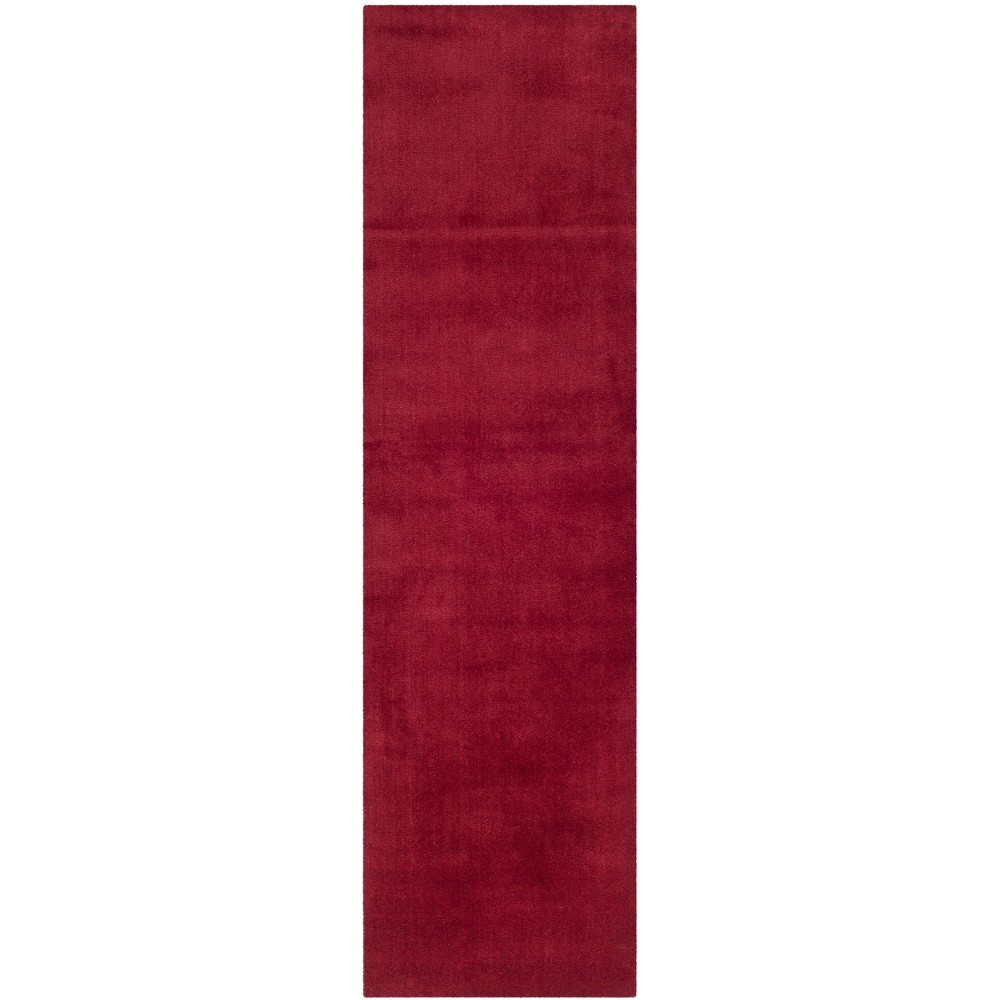 23X14 Solid Tufted Runner Red - Safavieh Buy