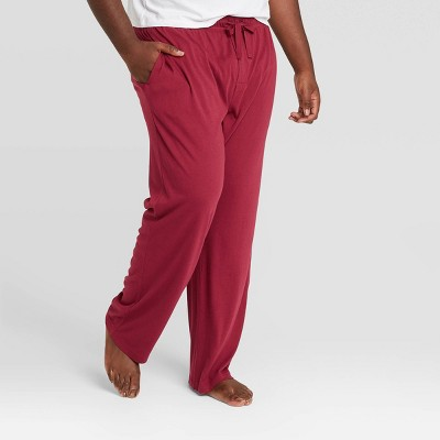 Men's Big & Tall Knit Pajama Pants - Goodfellow & Co™ Berry Red 5XBT