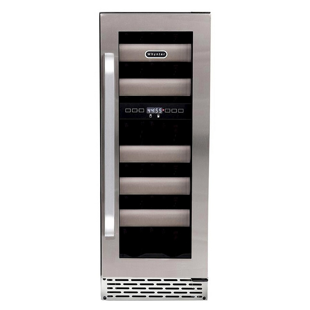 Whynter Elite 17 Bottle Dual Zone Built-in Wine Refrigerator – Stainless Steel Bwr-171DS 50253667