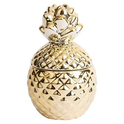 Pineapple Candle Gold - West Emory®
