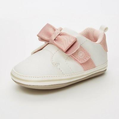 Baby Girls' Stride Rite Valentine Sneakers - White