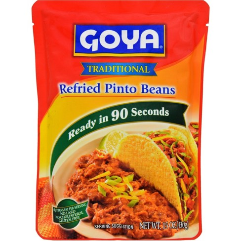 Goya Refried Pinto Bean Pouch 15 oz - image 1 of 3