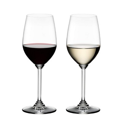 Riedel 6448/15-R Crystal Dishwasher Safe Riesling/Zinfandel Red/White White Glass (2 Pack)