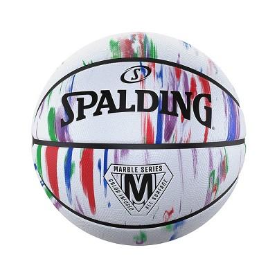 Spalding 29.5'' Basketball - Marble White