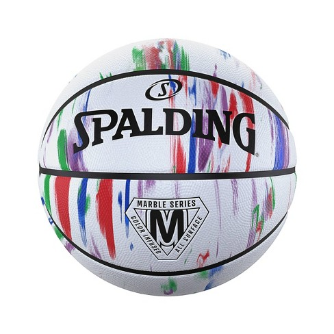Spalding 29.5'' Basketball - Marble White - image 1 of 4