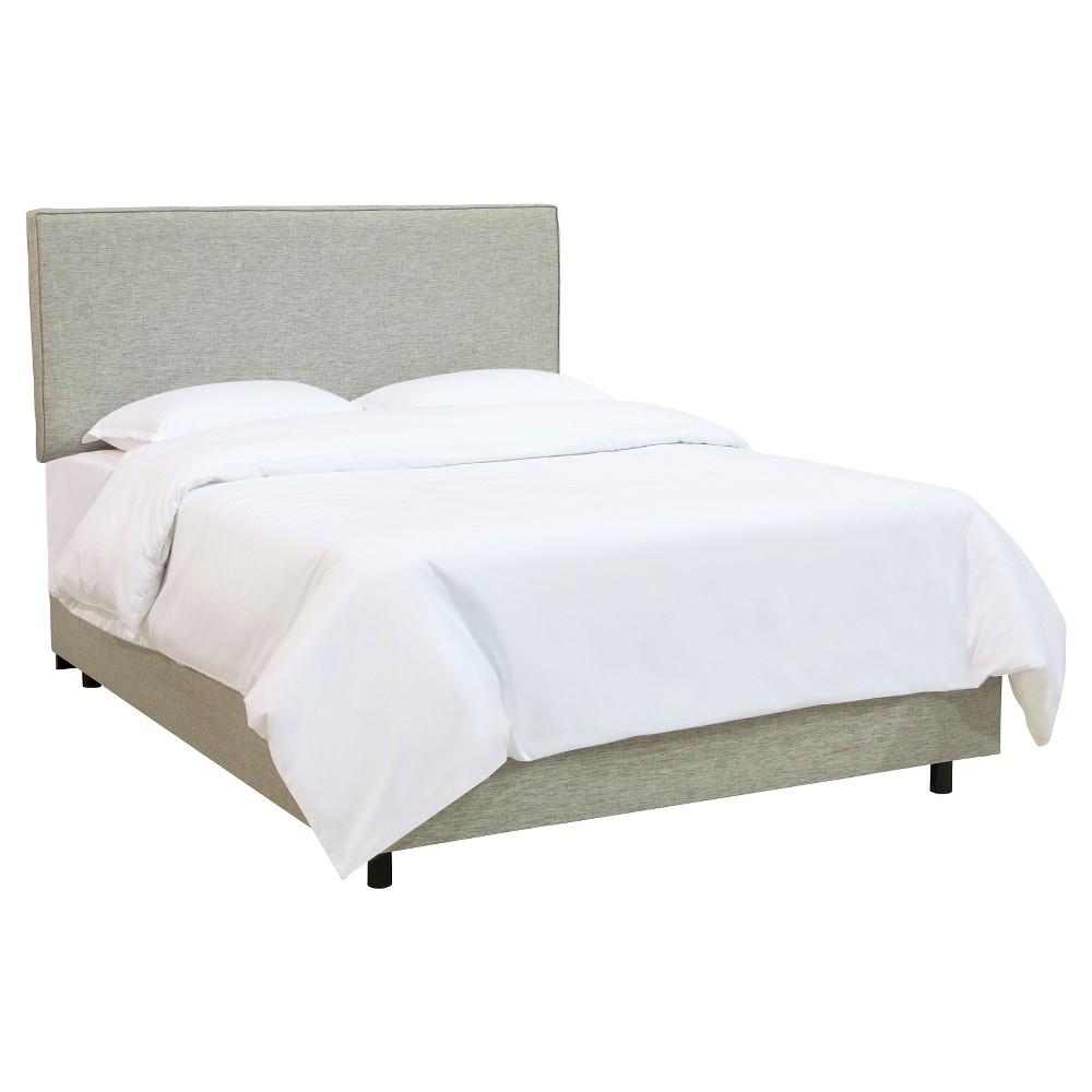 Austin Bed Groupie Pewter Twin - Skyline Furniture