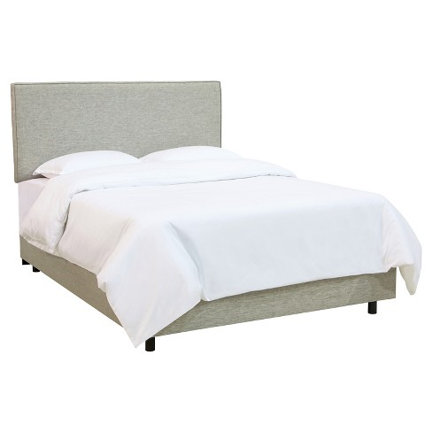 Austin Bed Groupie Pewter Queen - Skyline Furniture® - image 1 of 2