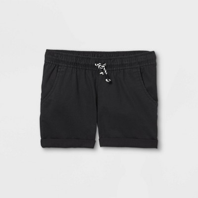 Girls' Rolled Hem Chino Shorts - Cat & Jack™