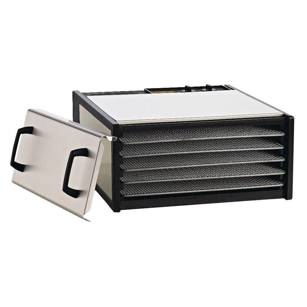 Excalibur 5 Tray Dehydrator - Stainless Steel (Silver)